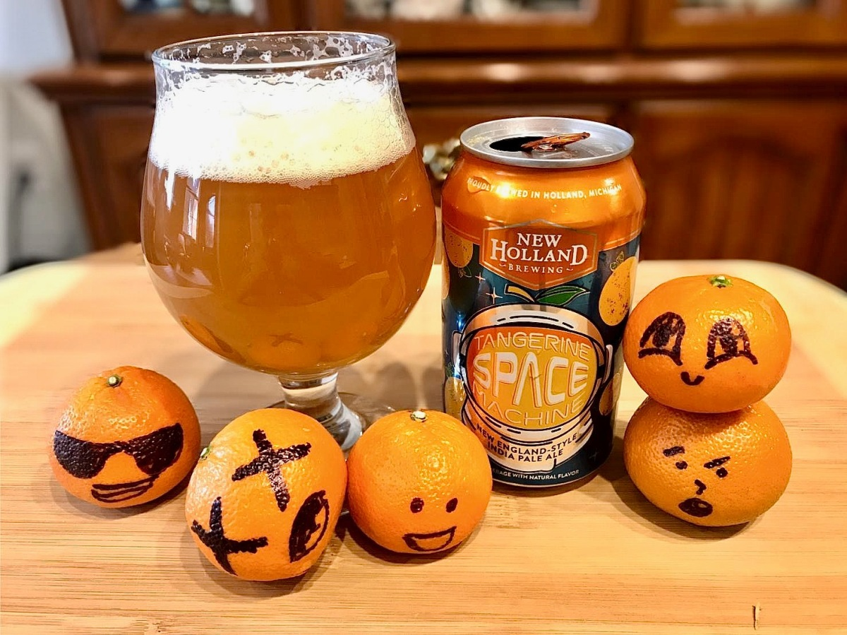 Tangerine Space Machine by New Holland Brewing – The Pint ...